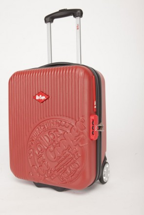 Valise-chariot ABS -  Rouge